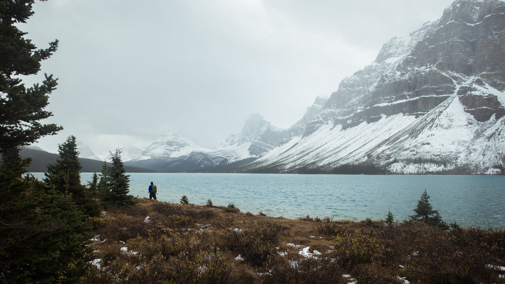 Bow Lake. Banff, Canada