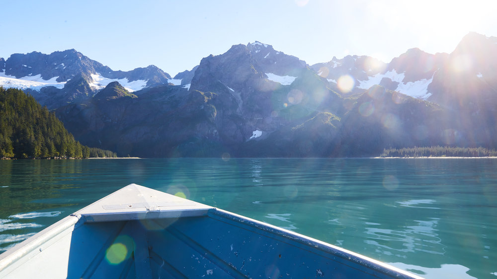 Resurrection Bay. Seward, Alaska