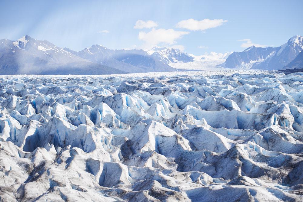 Knik Glacier. Alaska