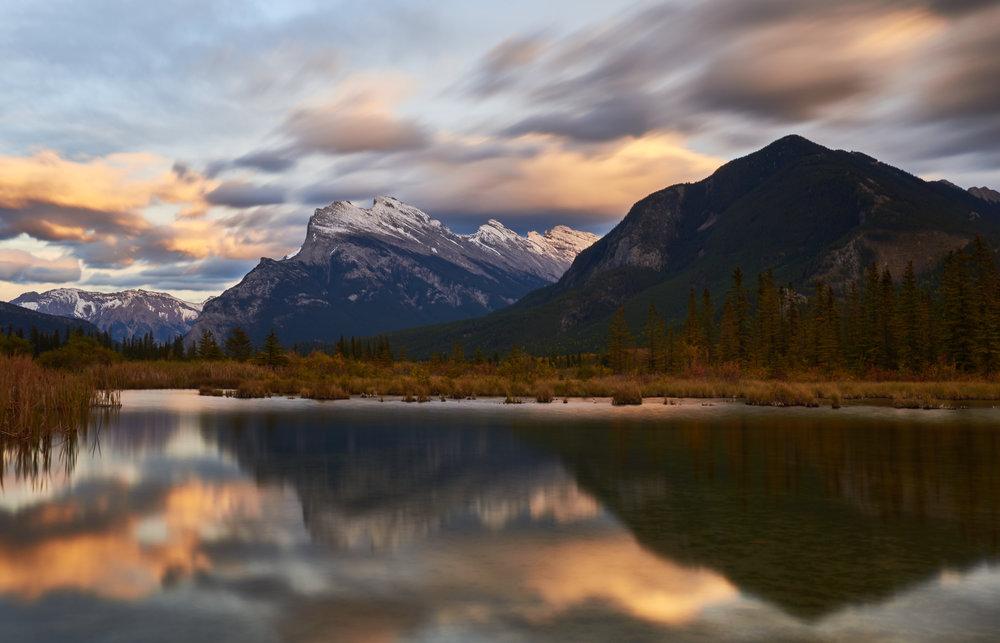 Vermillion Lakes. Banff, Canada
