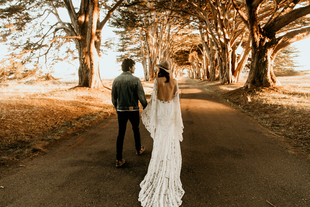 Bohemian and edge wedding photograper