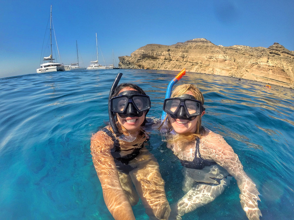 Who doesn't love snorkel face?