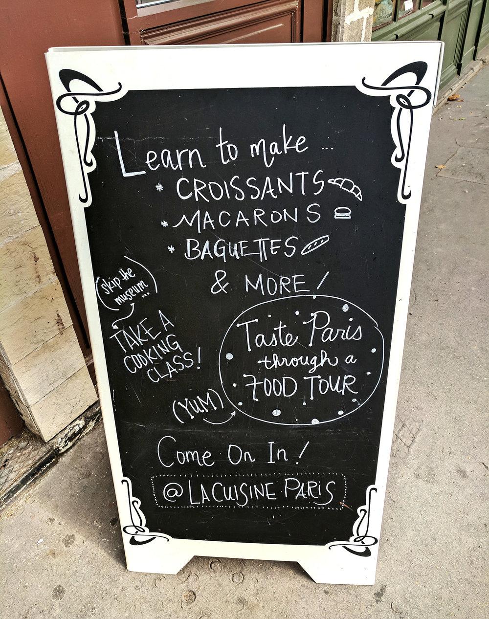 La Cuisine classes