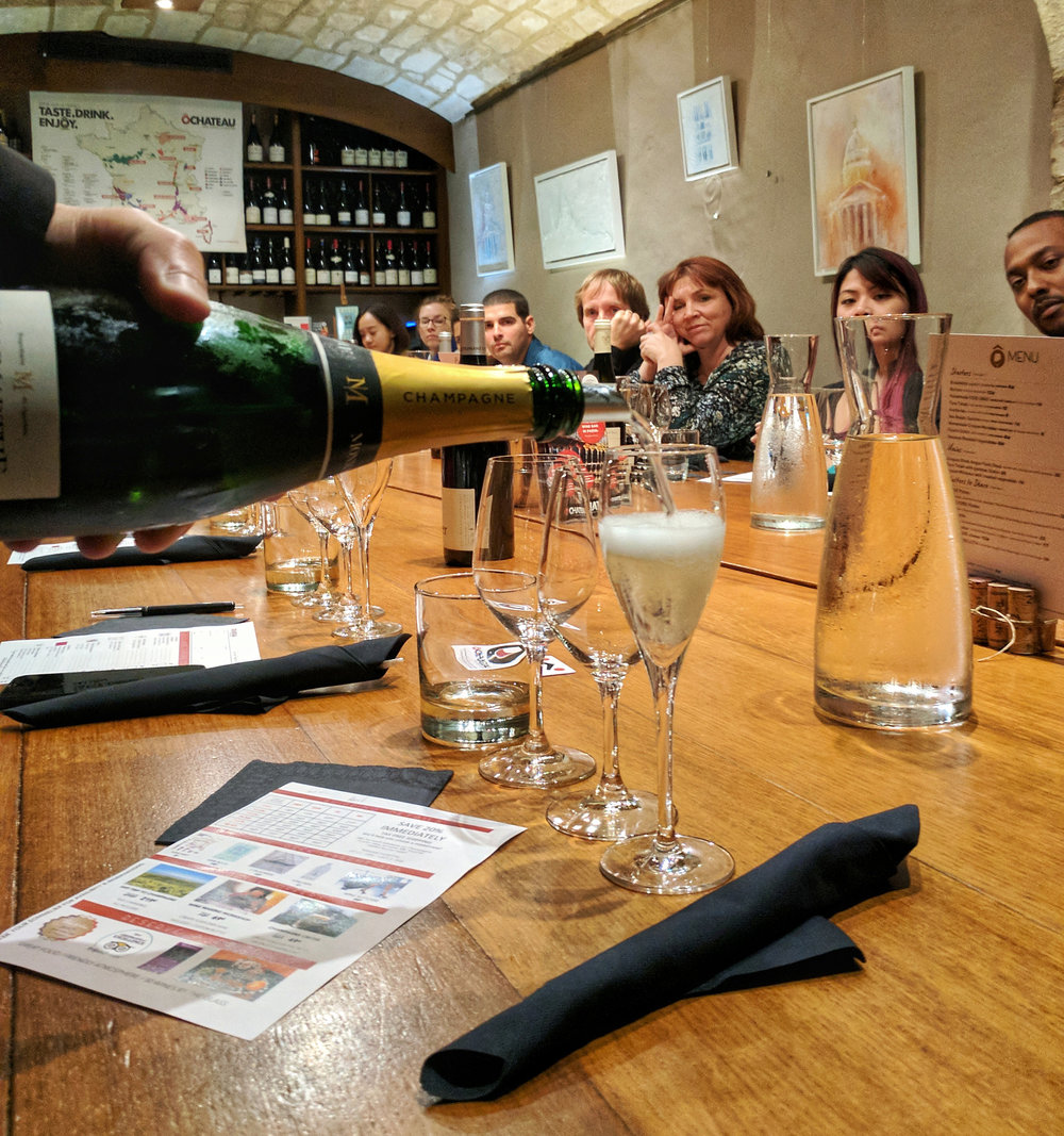OUR FIRST TASTING:Secret de Famille Premier Cru Brut from Monmarthe Champagne