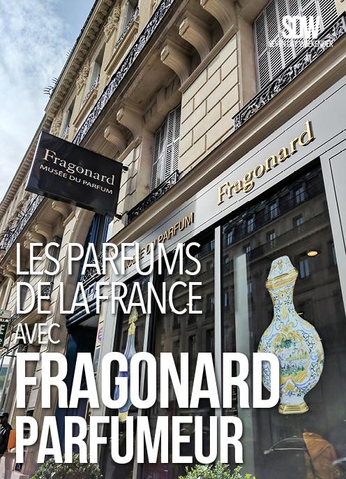 Les Parfums De La France Avec Fragonard Seven Day Weekender