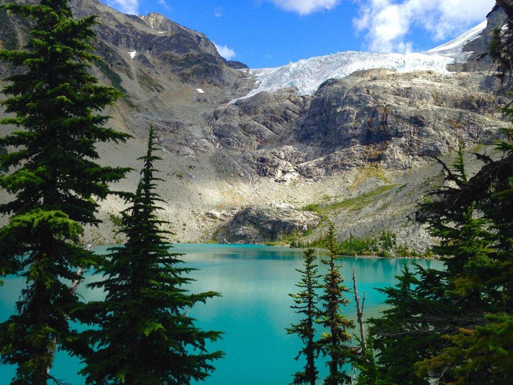 Joffre Lake Provincial Park, Pemberton, British Columbia, Canada (photo by  Laura )