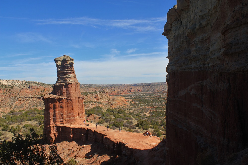Lighthouse Trail, Palo Duro Canyon State Park, Texas, USA (photo by Umiko)