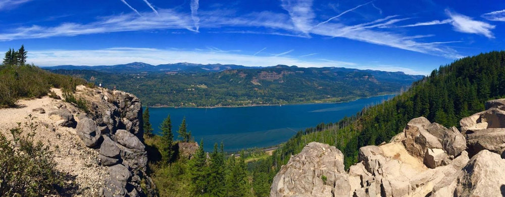Angel's Rest, Columbia River Gorge, Oregon, USA