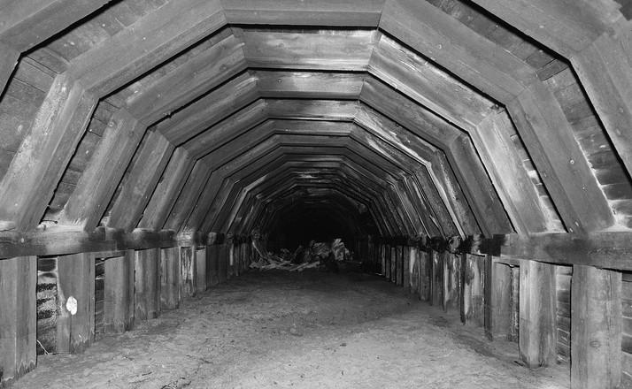 The Shanghai Tunnels via  The Culture Trip