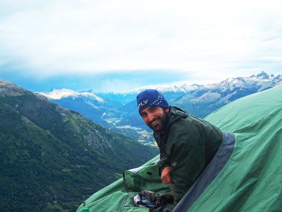 Props to Luke of '  Luke Kelly Travels  ' for doing this in both Alaska AND Patagonia!