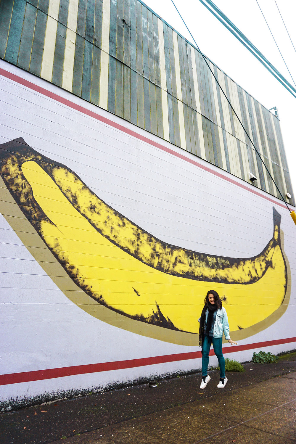Gorilla Wallflare's potassium filled wall is sure to put you in a good mood