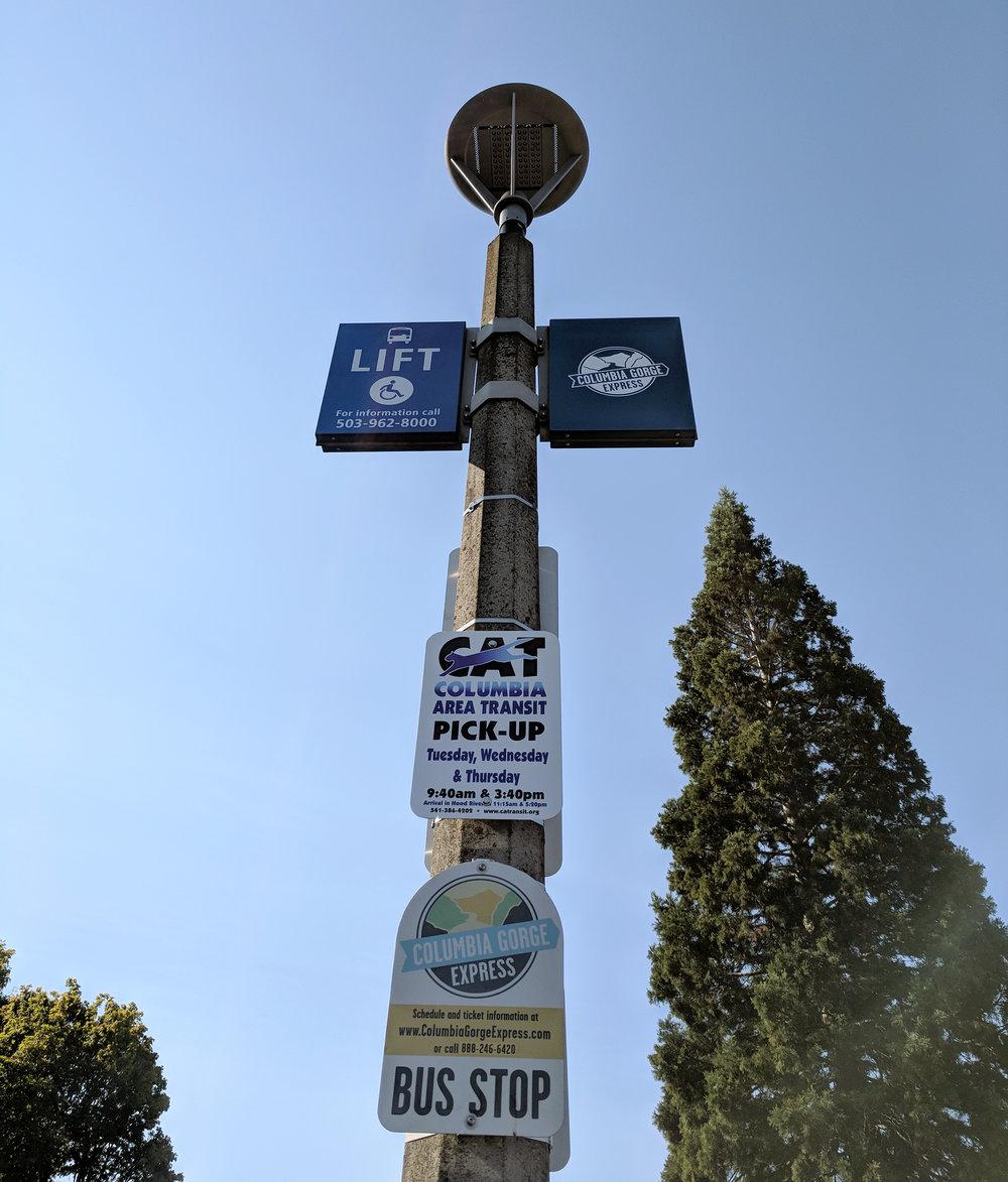Columbia Gorge Express bus sign.jpg