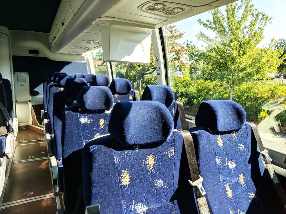 Columbia Gorge Express bus interior.jpg