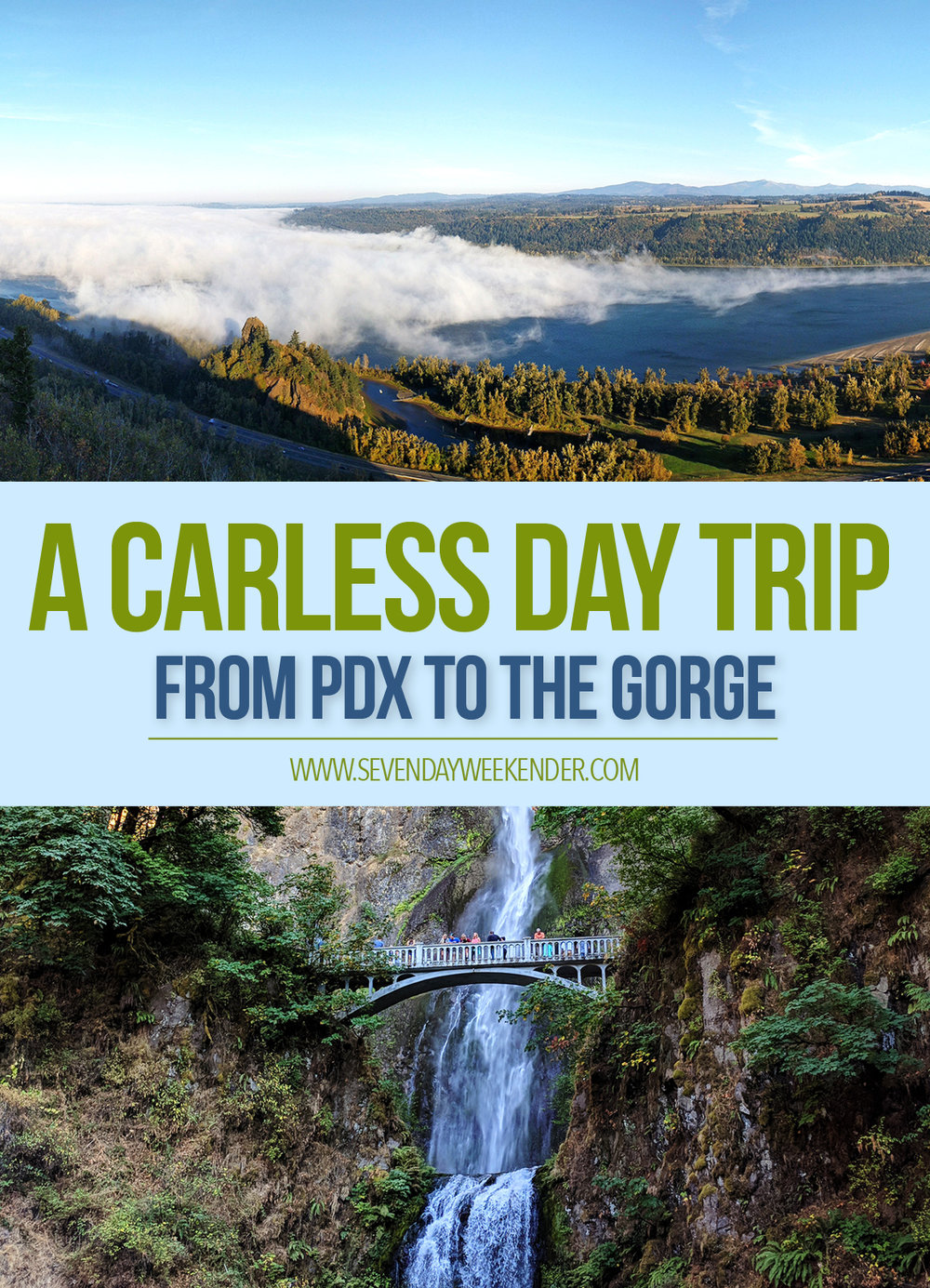 Columbia River Gorge Carless Day Trip