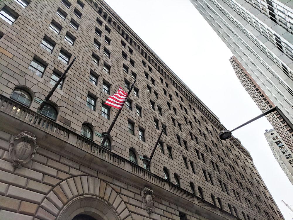 Federal Reserve Bank exterior