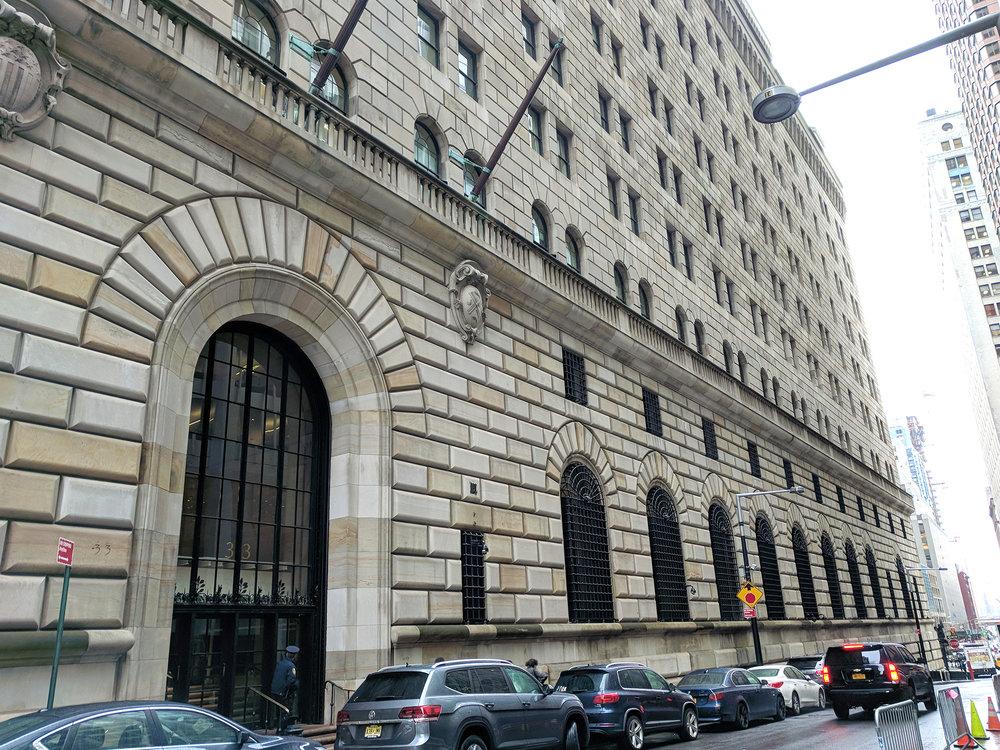 Federal Reserve New York City