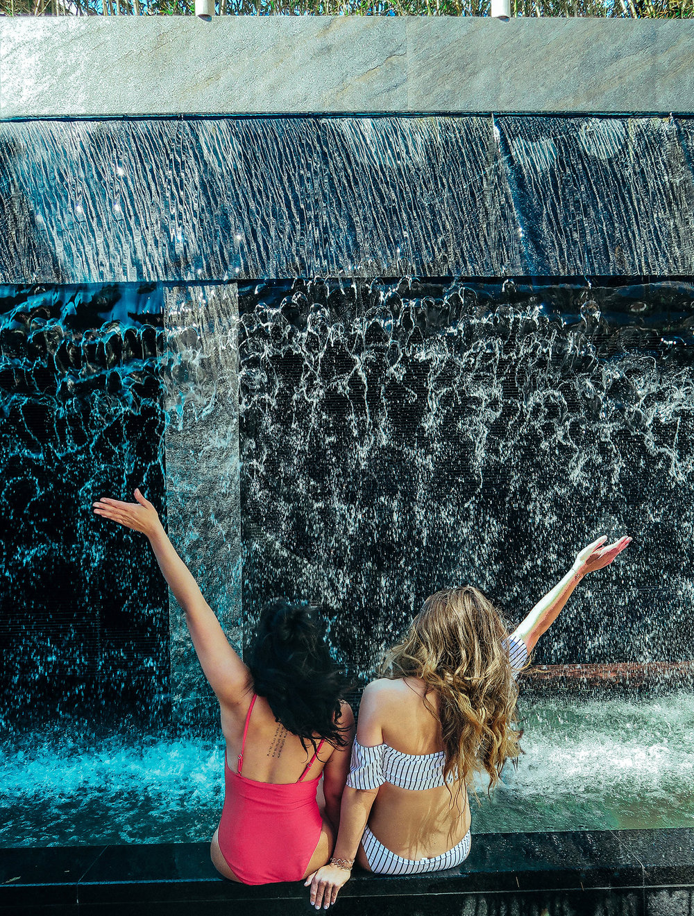 Sojo Spa waterfall