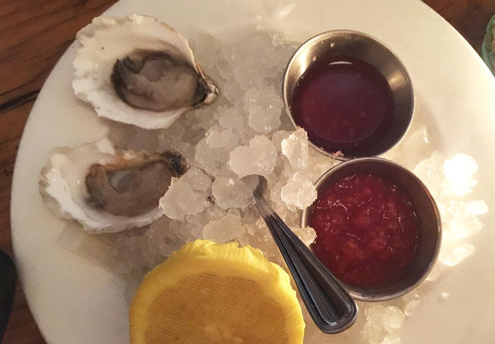 The Mermaid Inn oysters