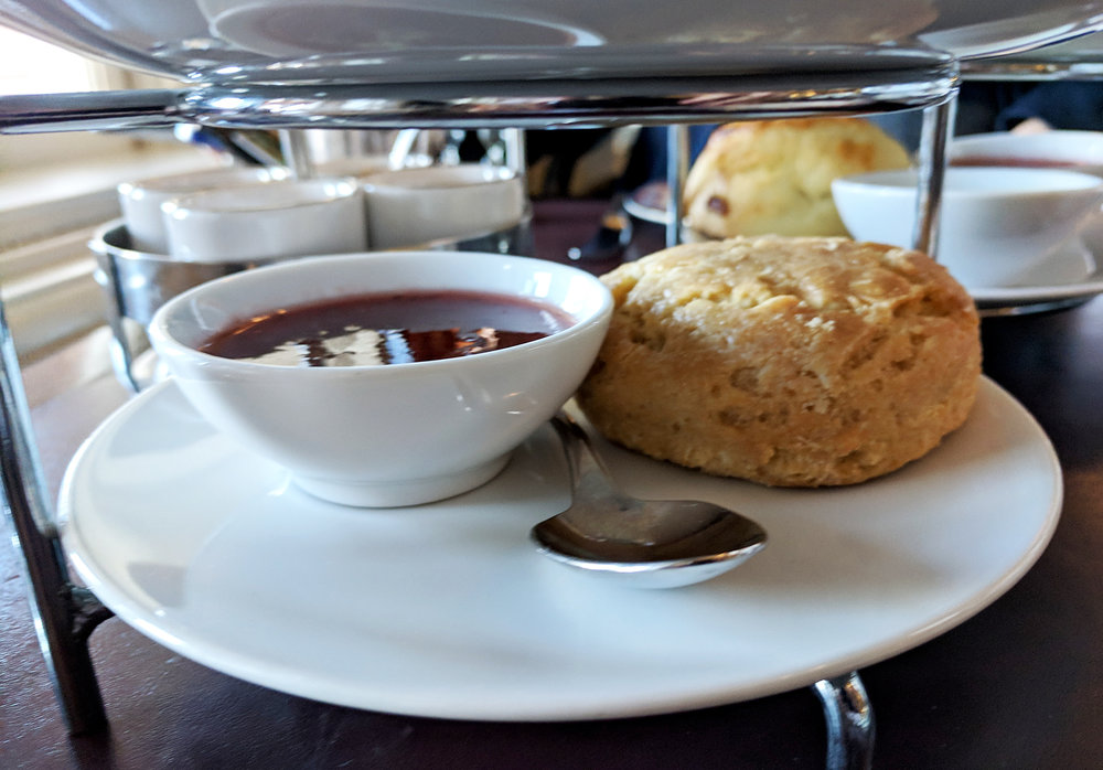 Afternoon Tea scone