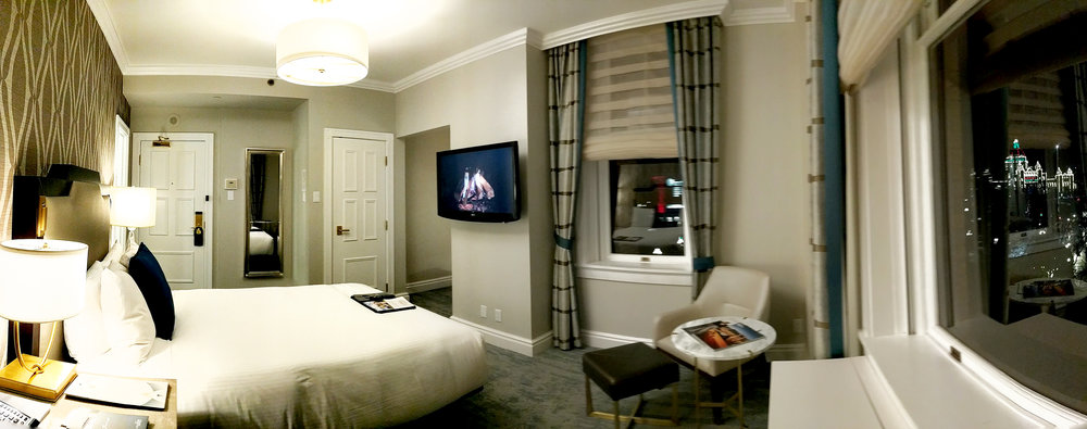 Fairmont Empress room pano