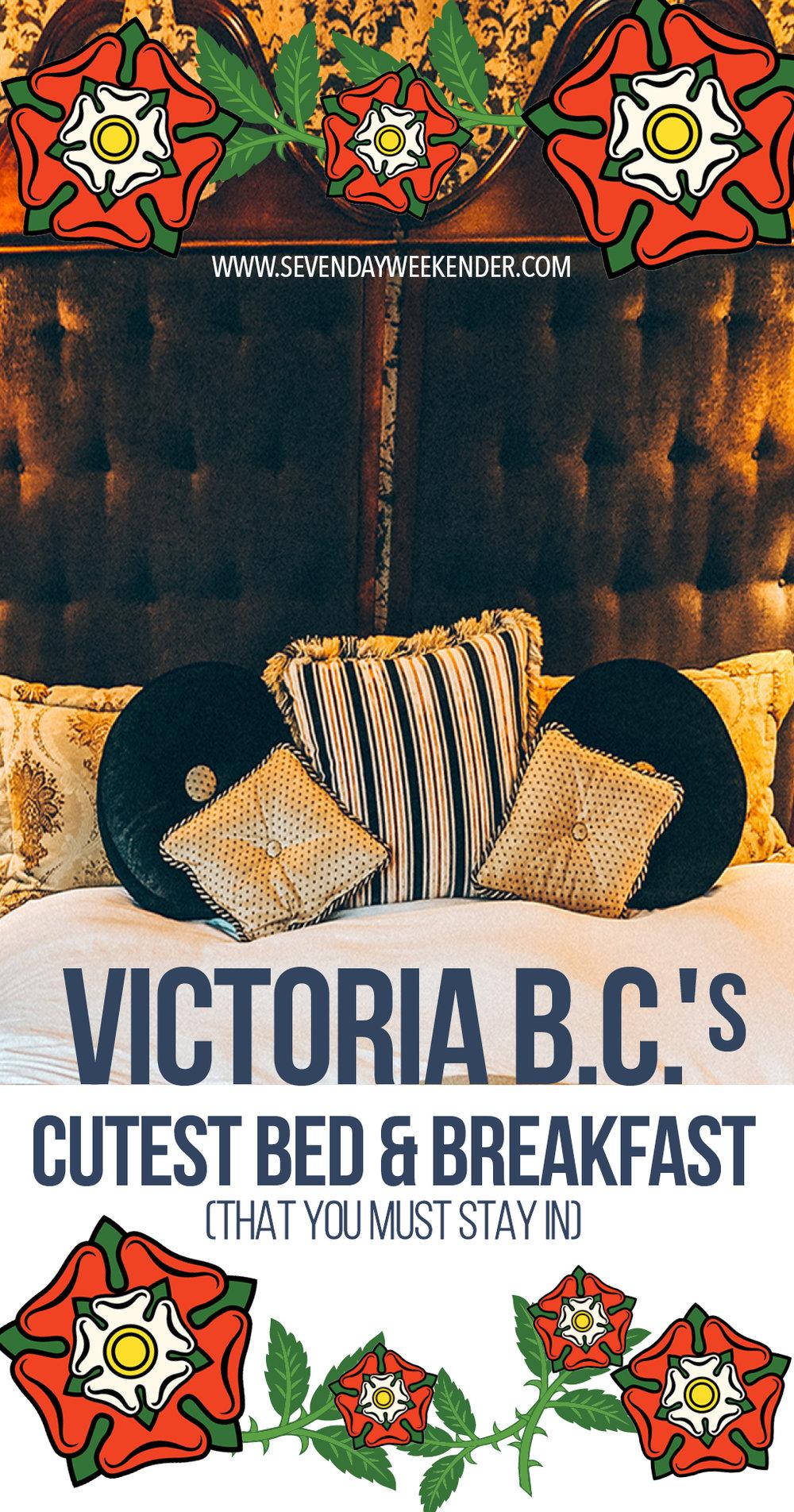Victoria B.C.'s Cutest B&B