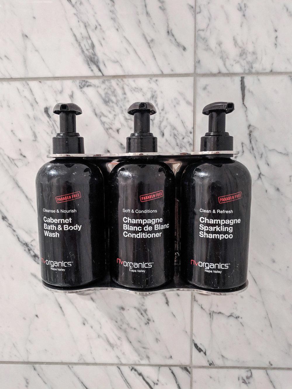 Napa River Inn bath products