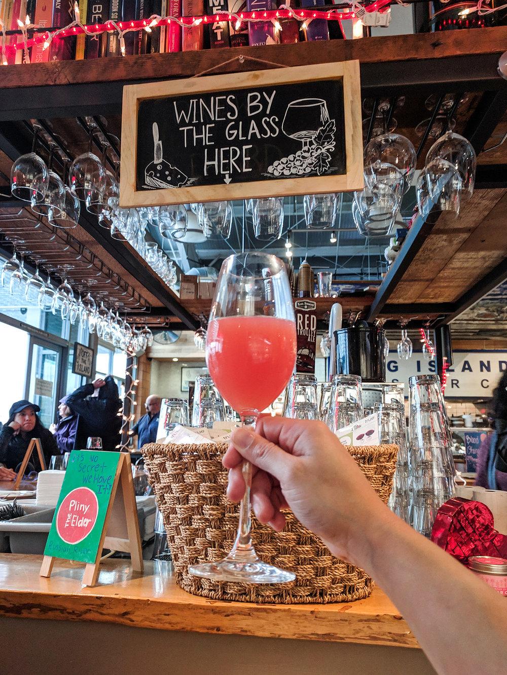 Oxbow Wine & Cheese Merchant mimosa