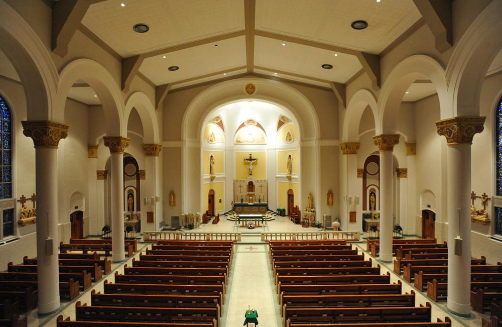 Catholic church hamden ct