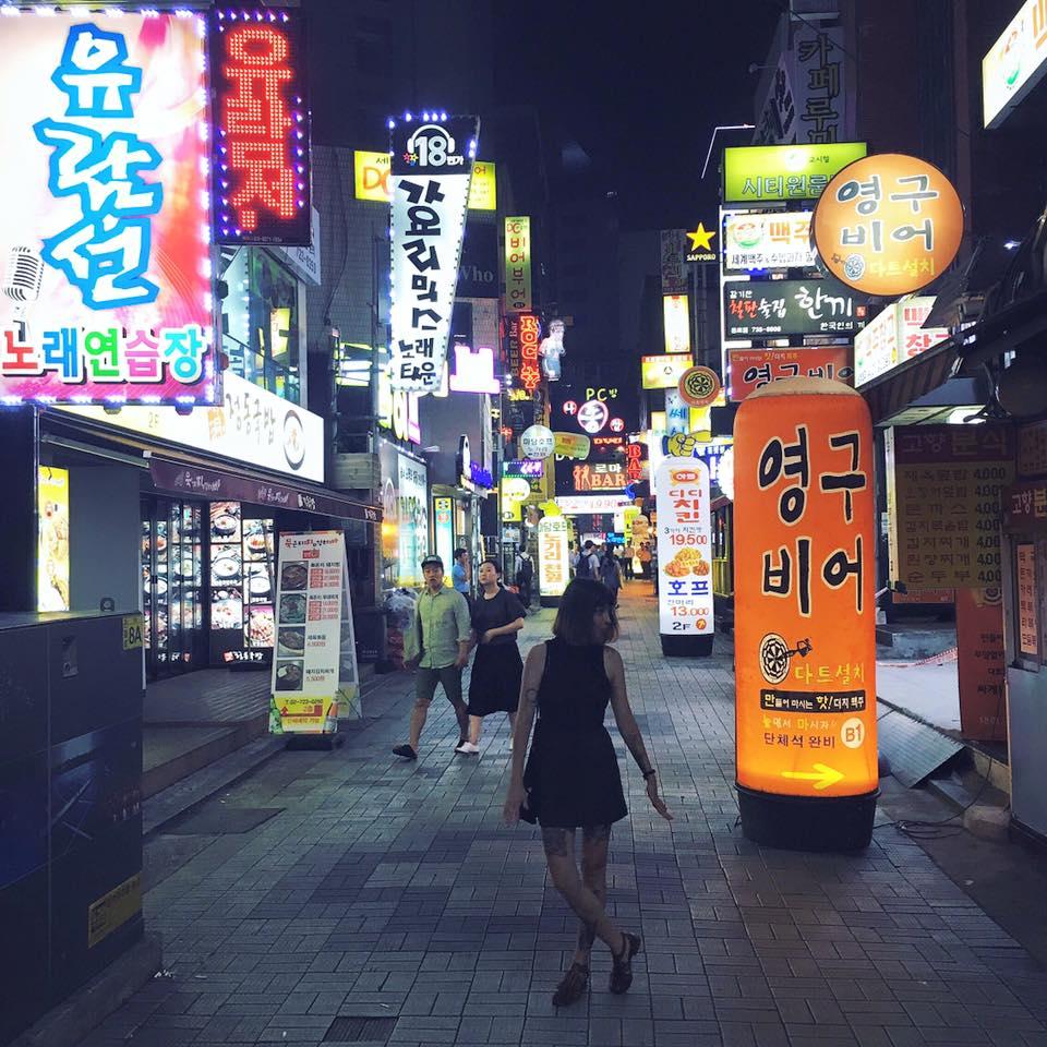 Neko y Seoul. No hay mejor combinación.
