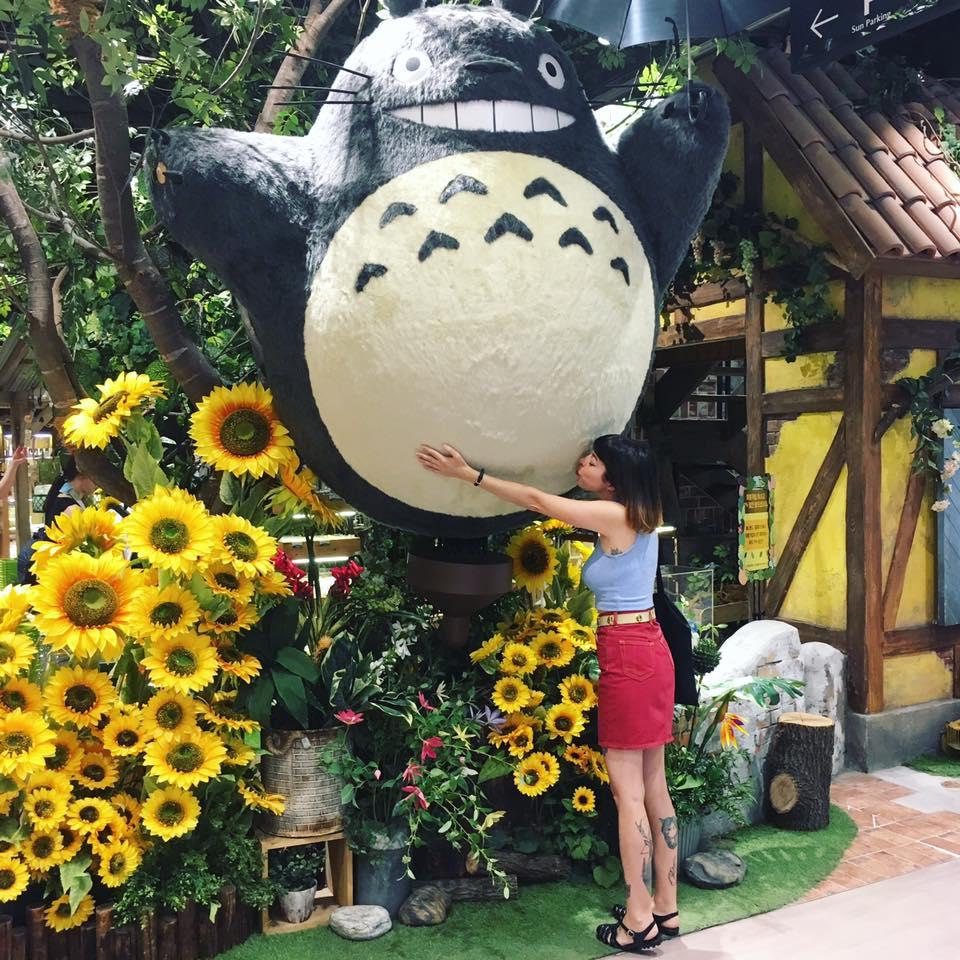 Y encima, me hice amiga de Totoro. ¿Se puede pedir algo más?
