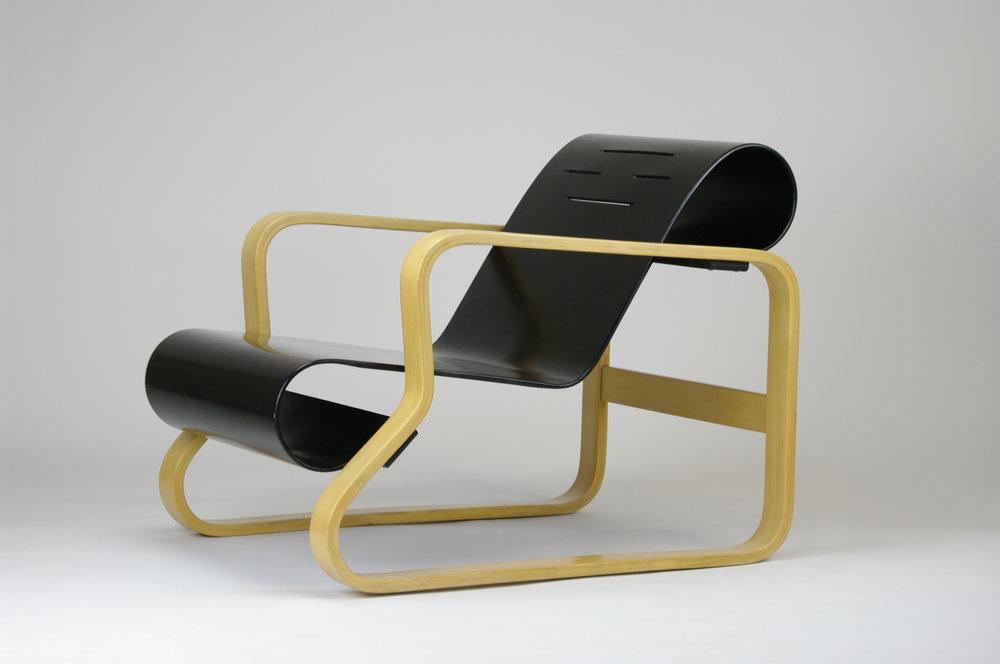 "Alvar Aalto ""Paimio"" Chair for Artek in Black - $2,300"
