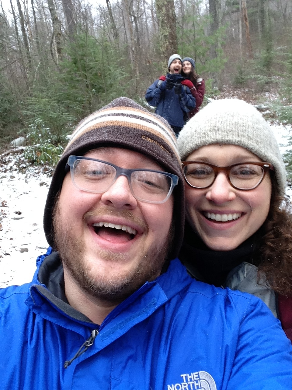 In State College, hiking during the winter is a wonderful thing!