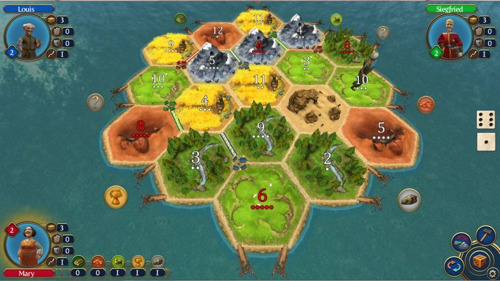 The digital version of Catan, like most programs created to mediate human interaction computationally, is not a perfect realization of the context of the game. Instead, concepts like interactivity are reduced to bare minimum representations of themselves. In study, this will be further bridged by Google Hangouts.