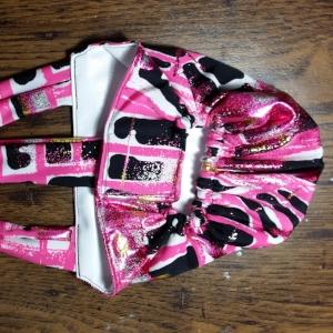 Pink Geo Foil Diaper