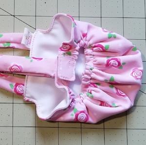 Pink Roses Diaper