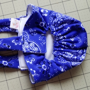 Royal Blue Bandana Diaper