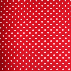 White Dot on Red