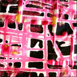 Pink Geo Foil
