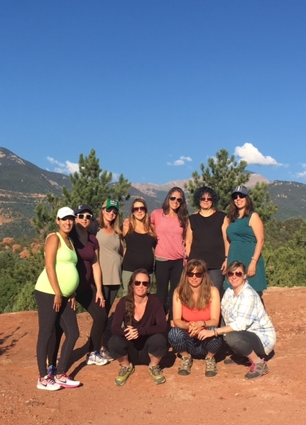 Yoga at Garden of the Gods