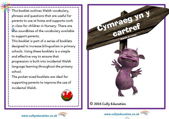 Progressive Incidental Welsh Resources for Parents