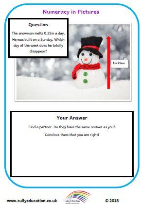 December Picture Puzzles