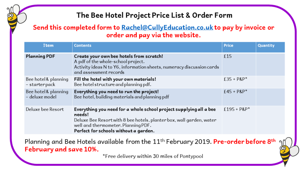 Download price list and order form