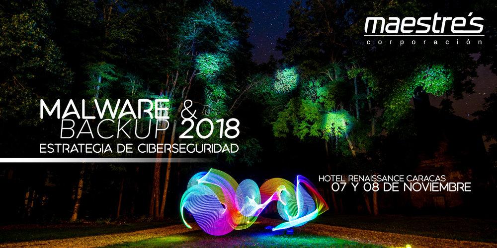 Evento Malware & Backup 2018 Venezuela Sophos Unitrends Thycotic