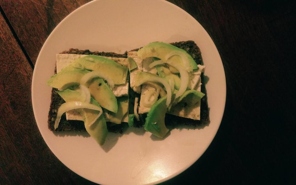 avocado-tofu-toast