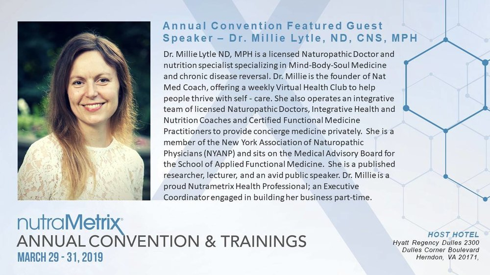 Dr Millie Nutrametrix Convention.jpg