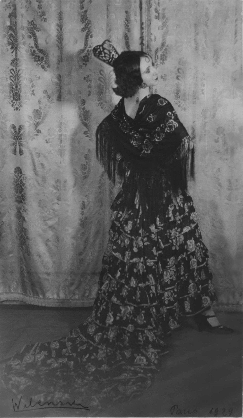 Anais 1929 Wilenski Spanish dance.jpg
