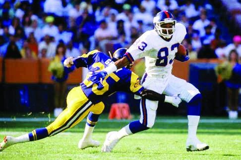 Odessa Turner • Super Bowl XXV Champion New York Giants