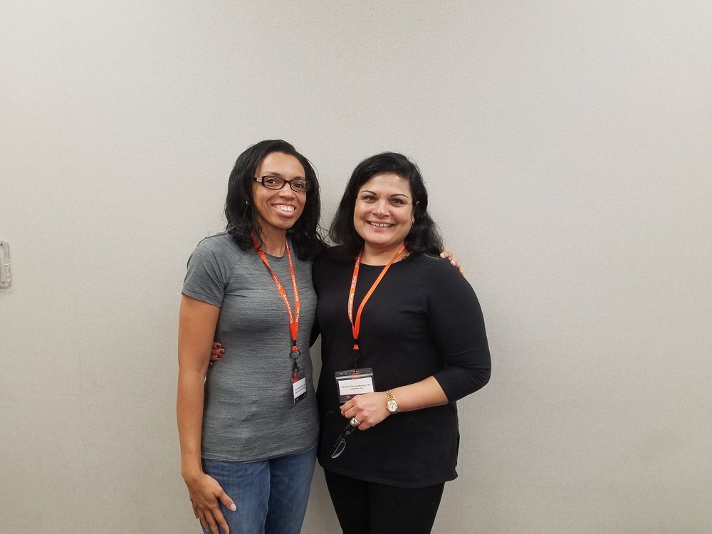 DR Bethea reunites with dr. SANDHYA Thomas-mONTILUS (her serenity integrated day spa FAYETTEVILLE, nc MENTOR) in wichita, ks 10/15/2016
