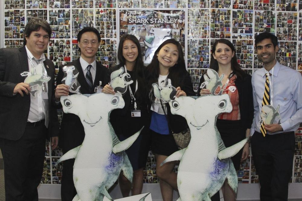 The Shark Stanley team in Bangkok