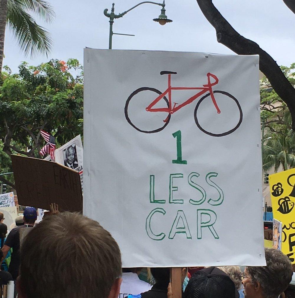 Bike - One Less Car.JPG